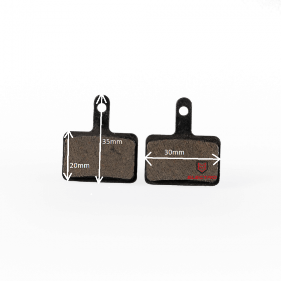 Dust Brake Pads for Zoom Hydraulic Brakes