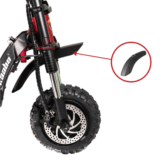 Front Mudguard / Fenderfor for Kaabo Wolf Warrior 11